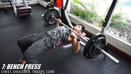 【Jordan Yeoh】7個最好的力量訓練動作