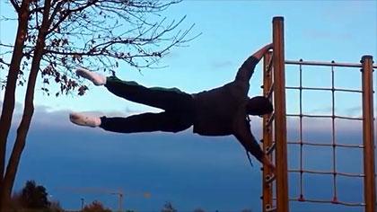 【極限健身】最酷炫的街頭健身動作合集 第1集