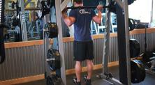 健身房腿部肌肉强化训练-新手(2练/周)