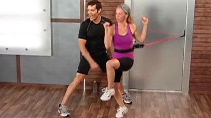 10分鐘健身訓練視頻07:核心有氧
