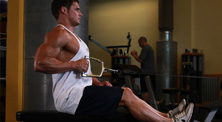 健身房背部肌肉强化训练-新手(3练/周)