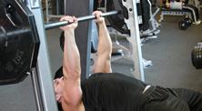 健身房肱三头肌强化训练-新手(2练/周)