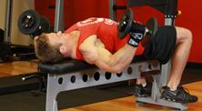 哑铃胸部肌肉强化训练-中级(3练/周)