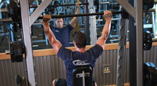 健身房肩部肌肉强化训练-中级(3练/周)