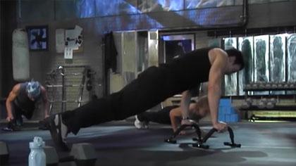 P90X全套中文視頻01:胸肌與背肌鍛煉、腹肌撕裂者X