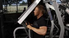 健身房背部肌肉强化训练-初级(2练/周)