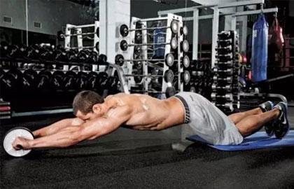 腹肌轮:非常好的器械 滚出你的腹肌