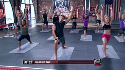TapouT XT课程视频D06:瑜伽形体
