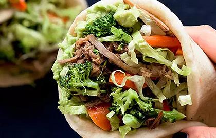 健康食谱:自制火鸡三明治午餐