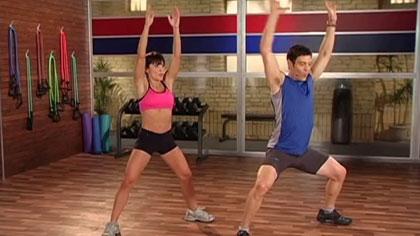 10分钟健身训练视频01:运动前热身
