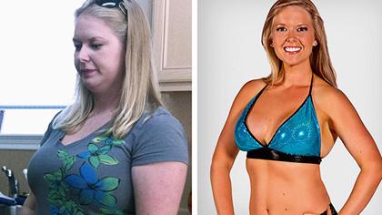 产后身材变形成胖妈!健身1年后蜕变华丽小姐姐
