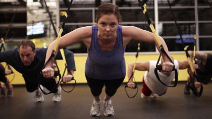 锻炼核心力量 高难度TRX动作