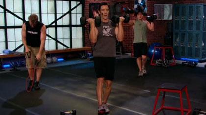 P90X2全套视频课程09:肩膀和手臂