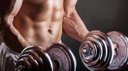 7个最常用的哑铃动作 在家练出大肌肉