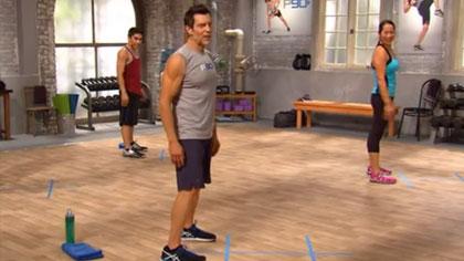 P90_2014全套視頻課程03:燃脂初級+腹肌初級