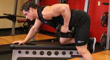 哑铃背部肌肉强化训练-中级(3练/周)
