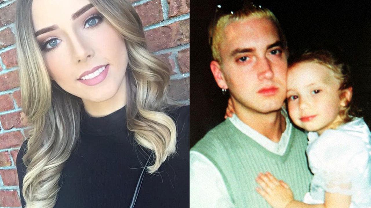 集聚智慧、美貌和身材于一身,Eminem23歲的女兒Hailie