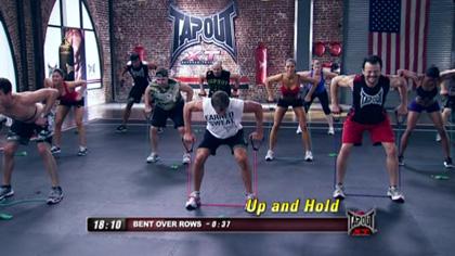 TapouT XT課程視頻D12:腿和背部