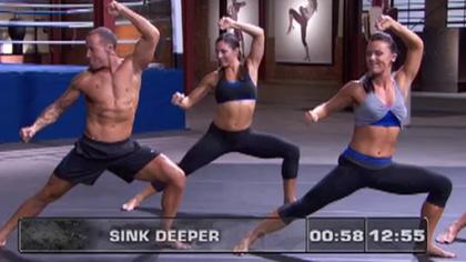 莱美搏击操(11):拉伸锻炼