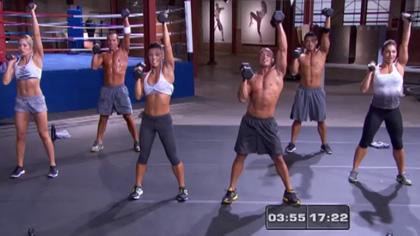 莱美搏击操(08):上身锻炼