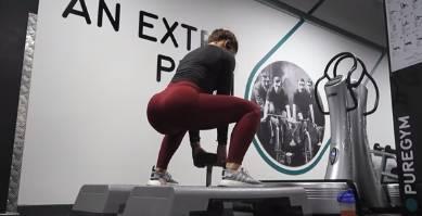 专为女性打造—健身房臀腿训练