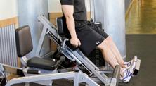 健身房腿部肌肉强化训练-初级(4练/周)