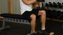 哑铃腿部肌肉强化训练-初级(4练/周)