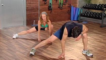 10分钟健身训练视频10:运动后放松