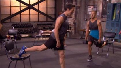 P90X3全套視頻課程:離心下肢