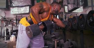 4个动作超大强度背部训练