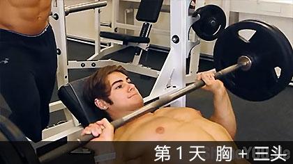【中文字幕】健体明星杰夫·赛德5天训练课程 - 第1天 胸+三头