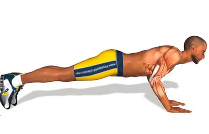 胸肌训练动作分解:标准俯卧撑