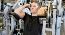 健身房肱二头肌强化训练-初级(2练/周)