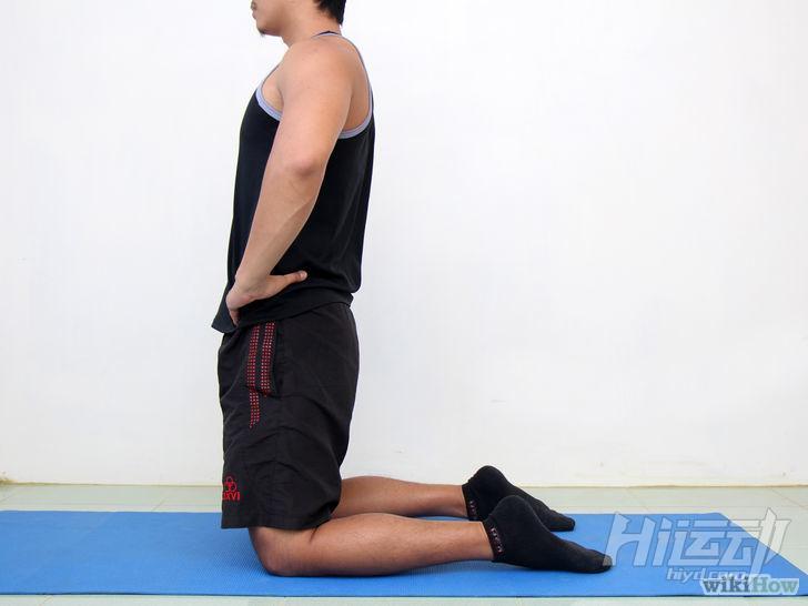 以Do a Yoga Camel Pose Step 1為標題的圖片