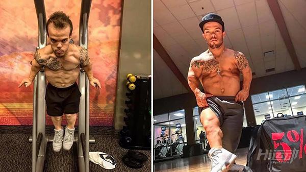 身高1米2却梦想当消防员,付出百倍努力健身成小巨人 - 图片5