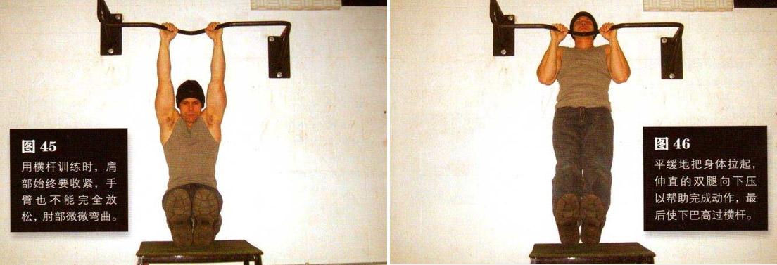 囚徒健身之引体向上 锻炼背部和肱二头 - 图片4