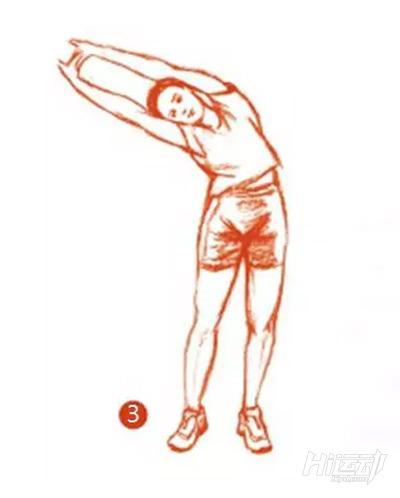 10个拉伸动作图解教程 身材美不美全靠它了 - 图片7