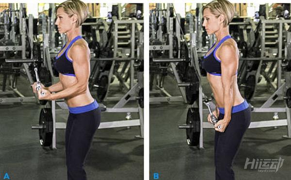 最适合用龙门架训练的5个动作,全面塑造你的身材! - 图片8
