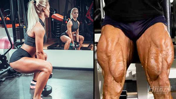 健身效果差,就是没练腿!2套腿部训练计划:初级与高级 - 图片1