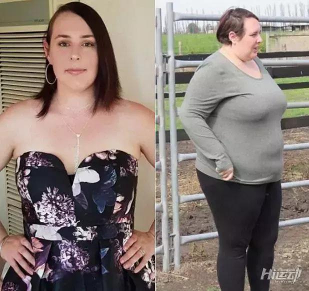 23岁妈妈用12个月克服暴饮暴食,不进健身房也瘦掉了57公斤 - 图片3