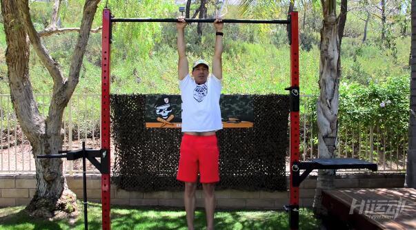 教你做一个完美的引体向上 锻炼背部 - 图片2