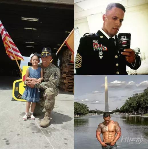 美国最壮大兵健身训练动作,你能完成一个算我输 - 图片1
