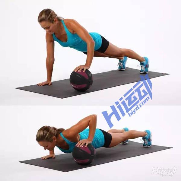 健身药球 全身训练动作图解 - 图片2