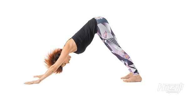 每天一式学瑜伽:下犬式!有效改善头痛与失眠 - 图片1
