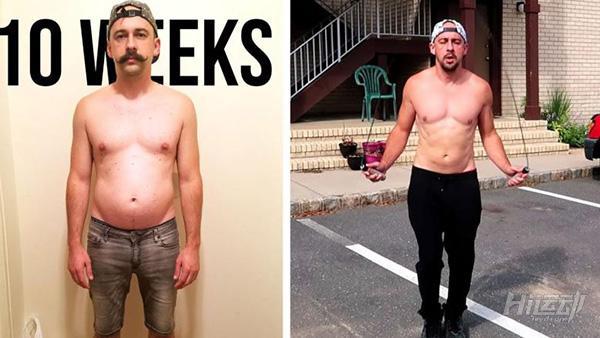 又想骗你买跳绳?大叔一周5次跳绳,10周后减了5公斤 - 图片14