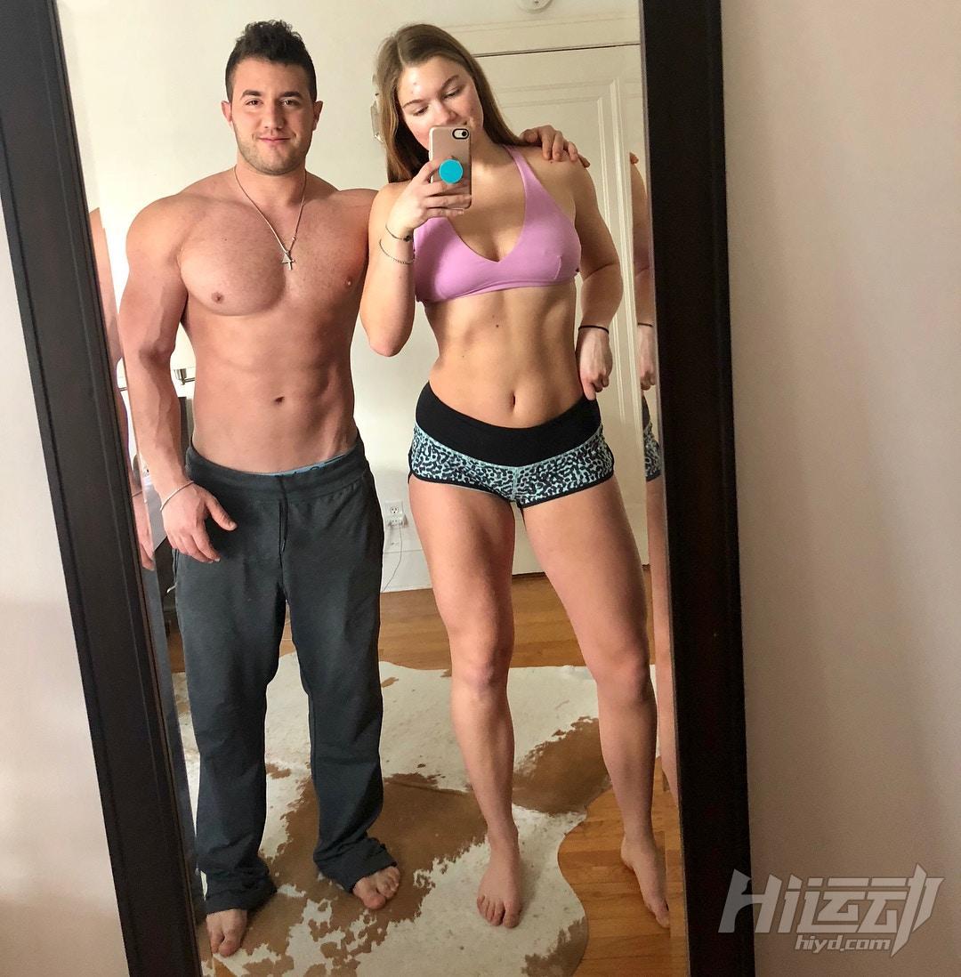 不应被体重定义快乐,美国肥妹靠健身变阳光美女 - 图片2