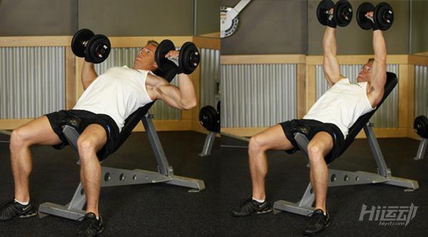 3个动作搞定上胸肌 薄弱的上胸这样练 - 图片4