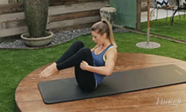 3个动作让你远离腰酸背痛困扰 拉伸塑形普拉提 - 图片7