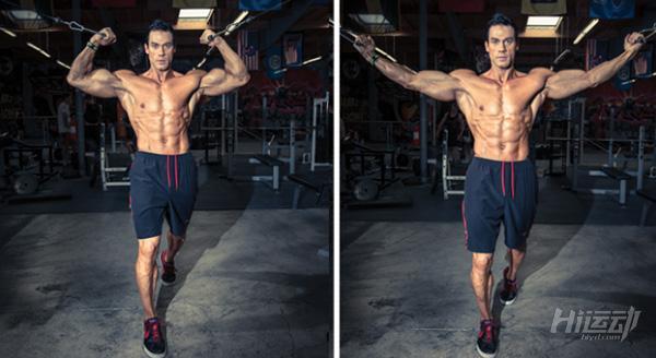 最适合用龙门架训练的5个动作,全面塑造你的身材! - 图片2