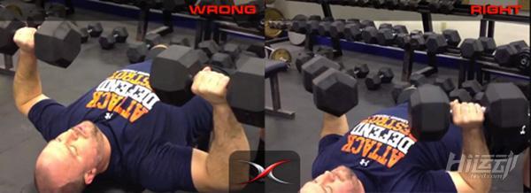 3个常见卧推错误动作纠正!练不出好看胸肌的原因 - 图片4